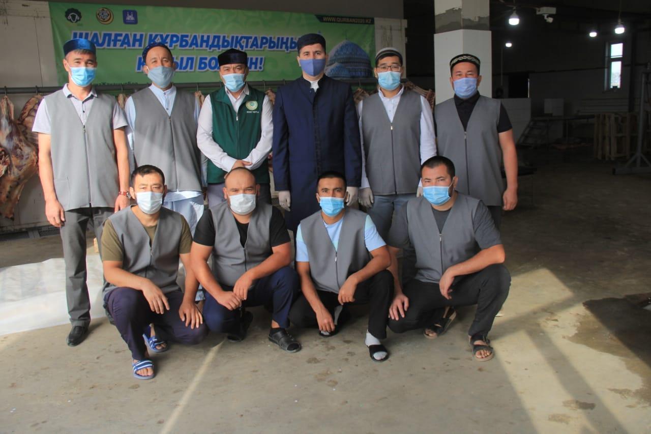 Қызылорда: Мұқтаж отбасыларға құрбан еті таратылды